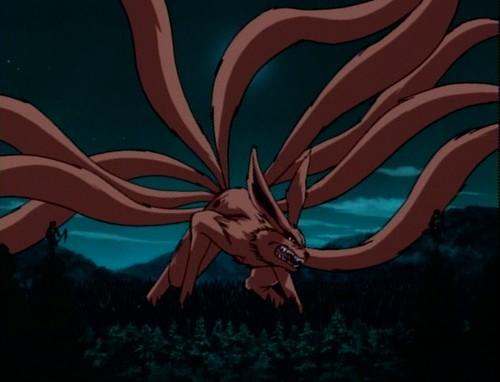 Девятихвостый демон лис смотрите